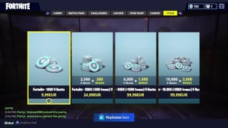Fortnite almost SEASON 4 + new skin and playing with viewers
