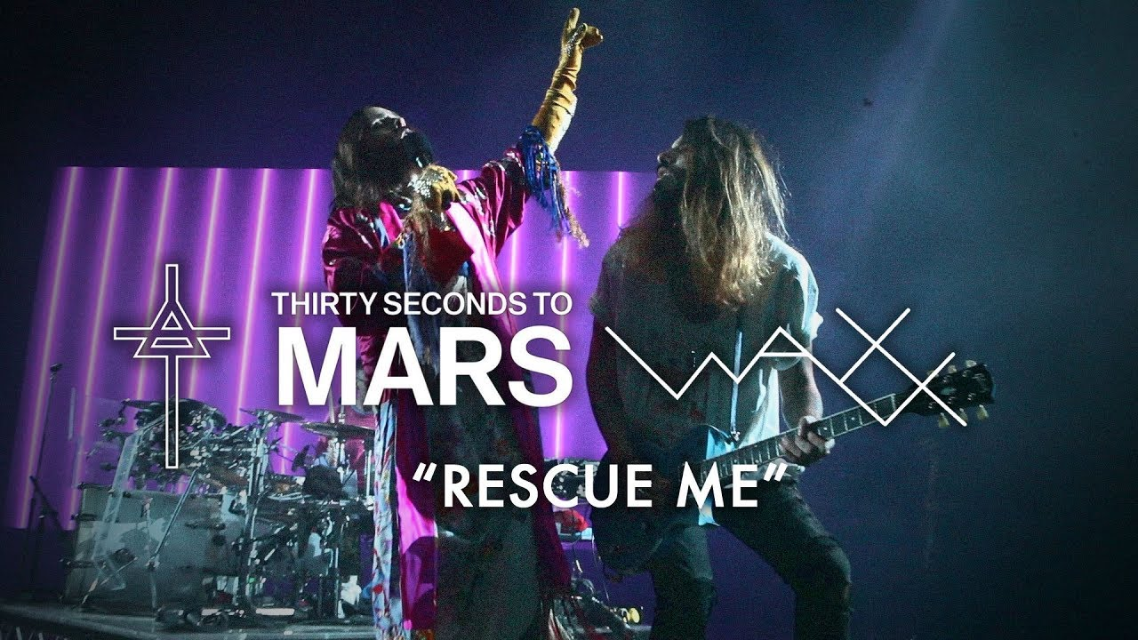 rescue me  live rock en seine