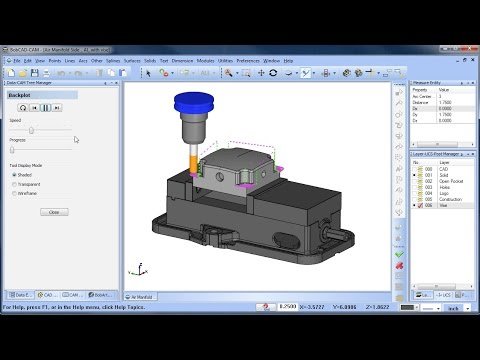 Backplot - BobCAD-CAM Quick Tips