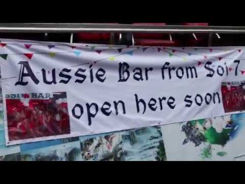 New location for the Aussie Bar in Pattaya Thailand