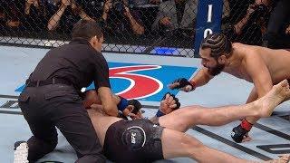 UFC 239׃ В замедленной съемке