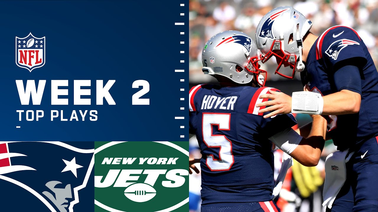 Highlights: Patriots Top Plays from Week 2 vs. Jets | New England Patriots