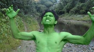 HULK transformation vs siren head chase |Hulk transformation in real life