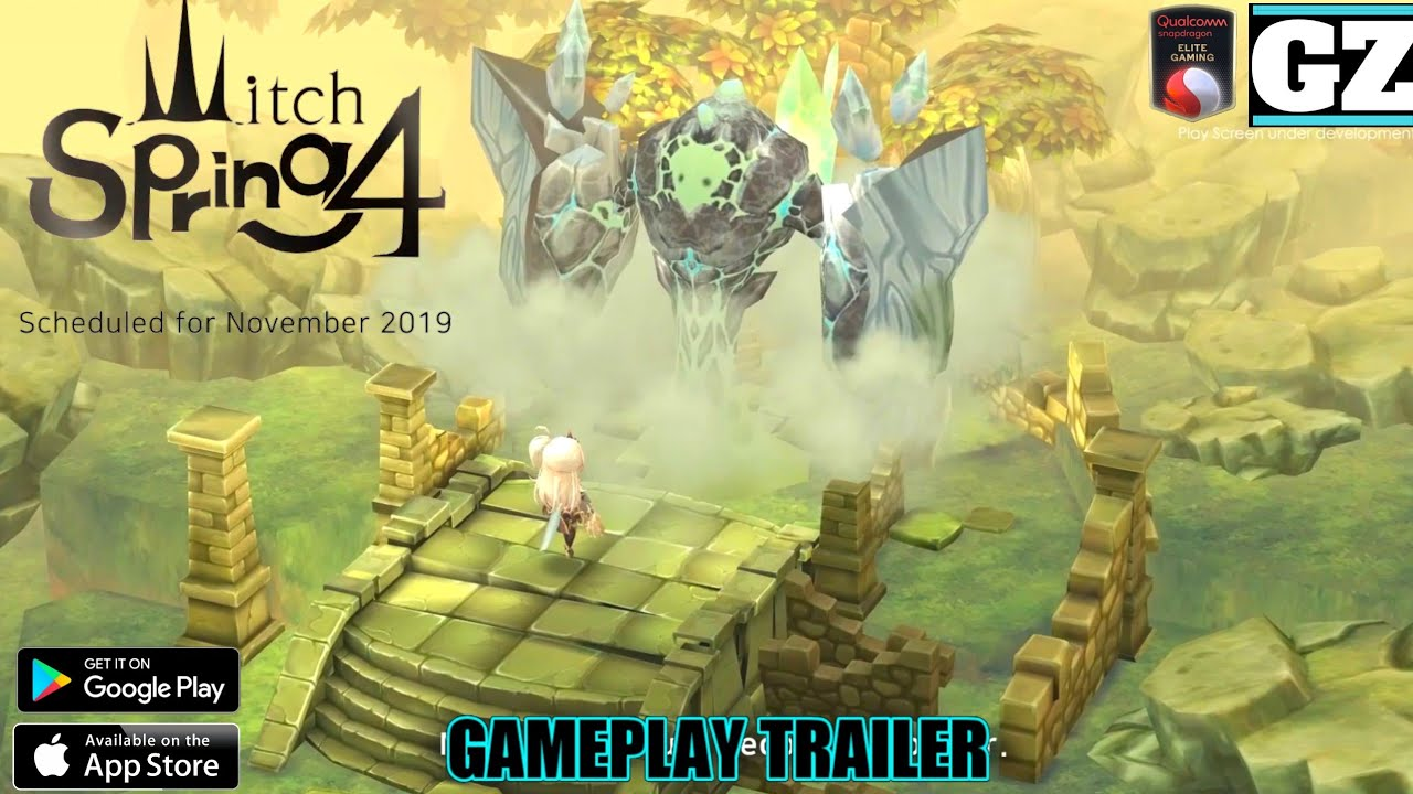 Witch Spring 4 - Release Date Confirmed! - NEW Gameplay Trailer