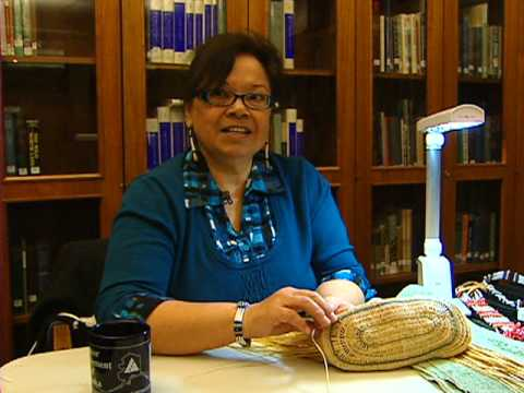 Native Alaskan Sock Weaving
