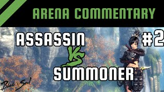 Arena PvP Commentary #2: Assassin vs Summoner [Platinum] | Blade and Soul
