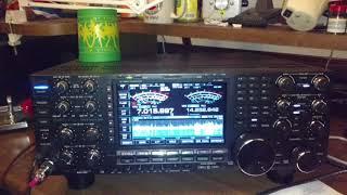 iCOM 7851 vs Yaesu FTDX9000 at R5AA