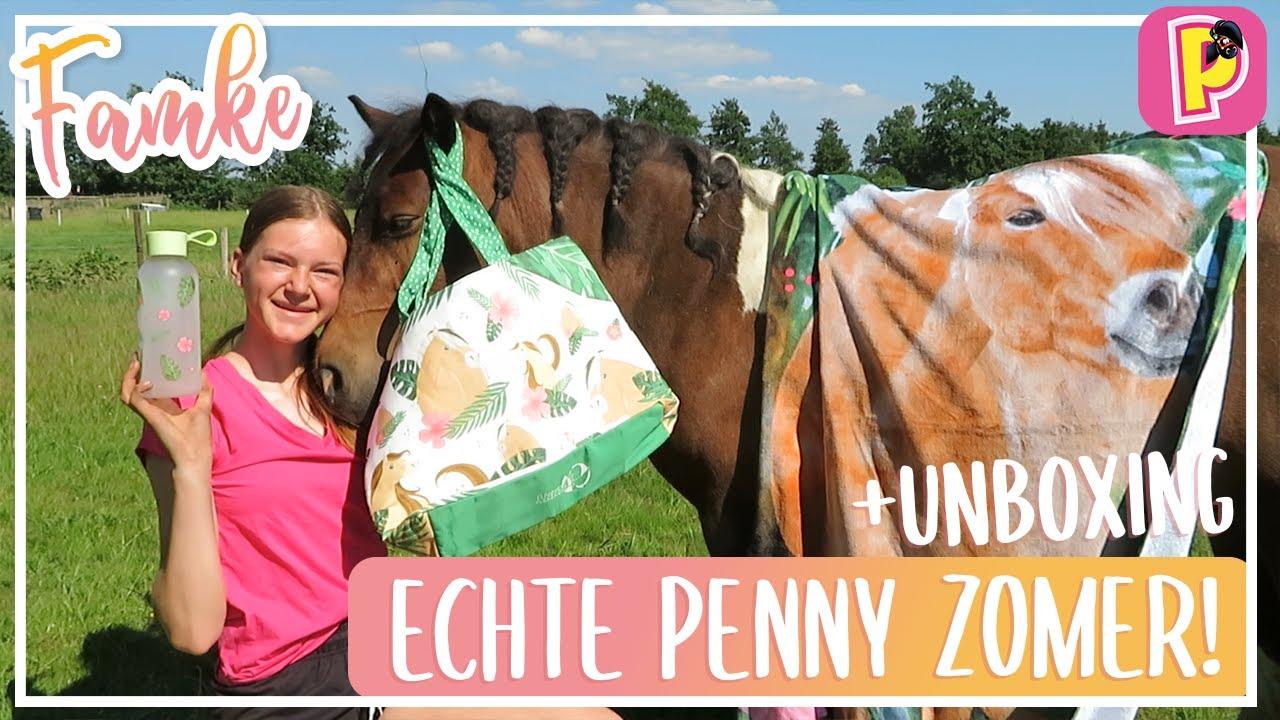 ECHTE PENNY ZOMER: UNBOXING! | Famke | PennyTV