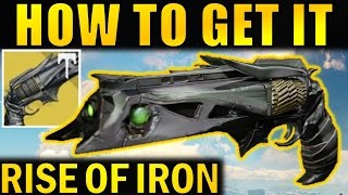 Destiny: how to get the thorn exotic hand cannon | complete walkthrough | rise of iron