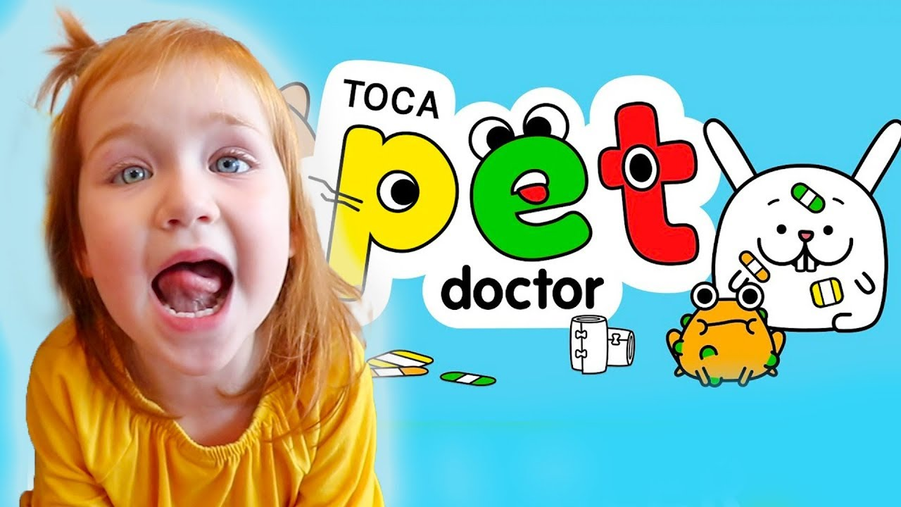 Adley App Reviews | Toca Pet Doctor | pretend play VET