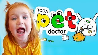 Adley App Reviews | Toca Pet Doctor | pretend play VET