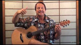 Oh Susanna acoustic Guitar lesson - James Taylor