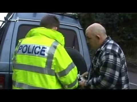 police stop a gypsy