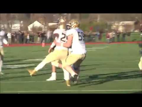 "La Salle College High School Football:  Nick Rinella '16 - Anatomy of ""The Catch"""