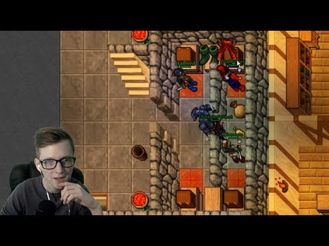Vangoro is a Scammer! - Tibia on Twitch #week18