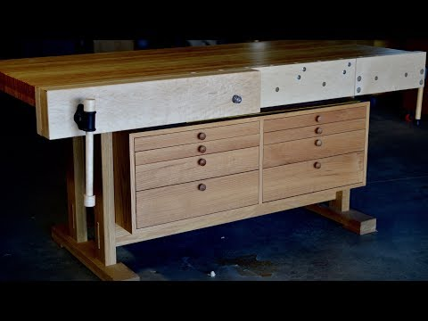 Workbench Upgrades! Vise Installation, Jigs, And Woodworking Chit Chat