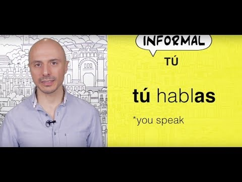 Learn Spanish: (81) TÚ and USTED
