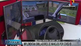 Lince: escuelas de manejo implementan simuladores virtuales para aprender a conducir