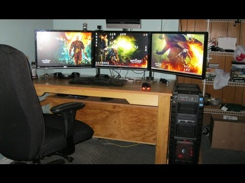 The Top 5 PC/Gaming Desk Setup Project! Not Best System!!! - YouTube