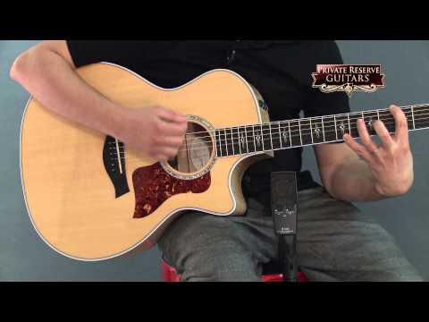 Taylor 614ce Grand Auditorium Cutaway ES2 Acoustic-Electric Guitar Natural