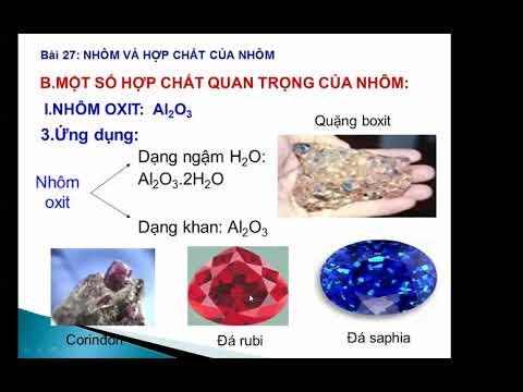 Bài giảng Hóa học 12: Nhôm và các hợp chất của nhôm