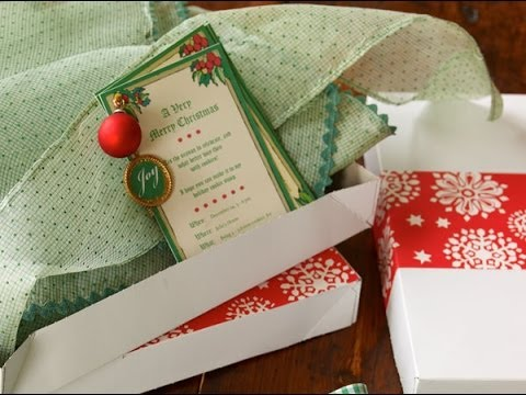 Wls Abc Chicago Tv Appearance 12 07 09 Cookie Swap Invitation Favor