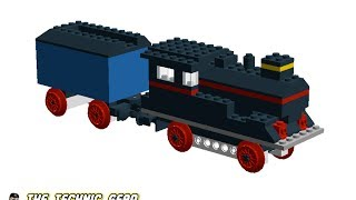 [MOD] LEGO 117 Locomotive without motor