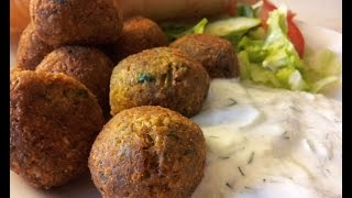 Falafel recipe - How to make  easy and delicious  falafel