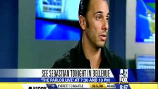 SEBASTIAN MANISCALCO: PARLOR LIVE COMEDY CLUB Q13 FOX NEWS INTERVIEW 9/25/09