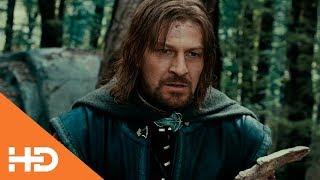 Боромир пытается отобрать кольцо у Фродо ★ Властелин колец: Братство кольца (2001)