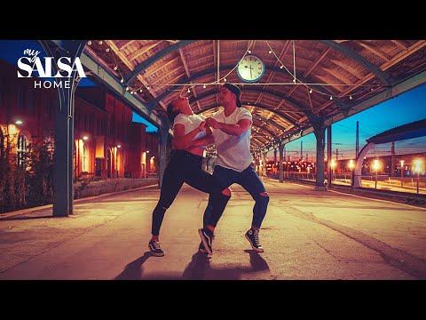 Gloria Estefan - Conga   Salsa Dance Choreography by Daniel Rosas