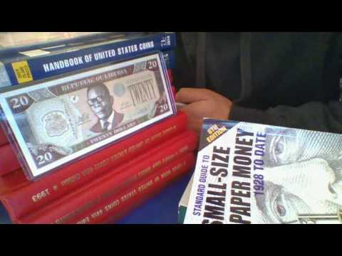 Republic Of Liberia Central Bank 5 10 20 Dollar Banknotes The Nicky Nice World Paper Money Show