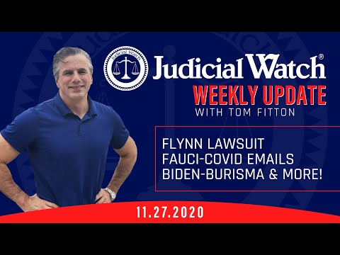 NEW Lawsuit on Flynn Unmasking by Deep State, Fauci Emails on COVID, Biden-Burisma Corruption &