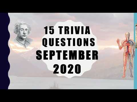 15 Difficult General Knowledge Trivia Questions ...