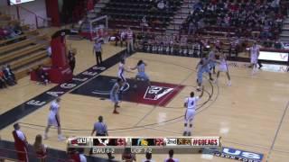 Highlights of Eastern Men's Basketball against Great Falls (Dec. 8).