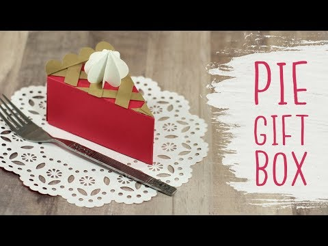 3D Pie Slice Gift Boxes 🍂 Thanksgiving Crafts