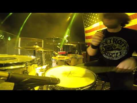 """Yank Me Crank Me"" - Jason Hartless Drum Cam"