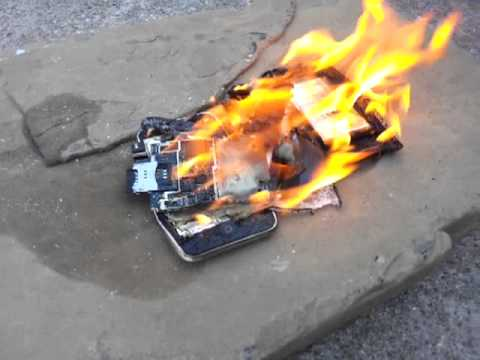 Lighting my iPhone on Fire