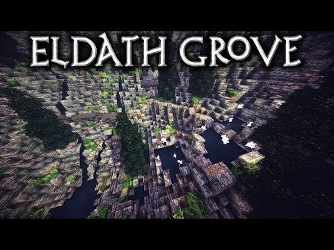 Minecraft: Eldath Grove - Ep4 The Healing Pools (Let's Build)