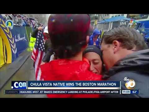 Chula Vista native details Boston marathon win