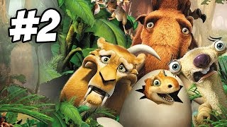 Ice Age: Dawn of the Dinosaurs Walkthrough   Part 2 (Xbox360/PS3/Wii/PC)