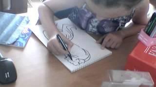 Видеоурок ка хитро и красиво научиться рисовать!!!