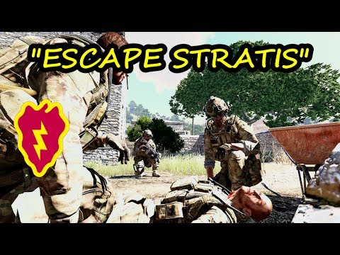 Arma 3 Coop Gameplay 25th ID 2nd Platoon FTX Escape Stratis