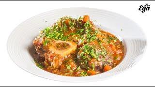 Оссобуко — итальянское блюдо с говядиной