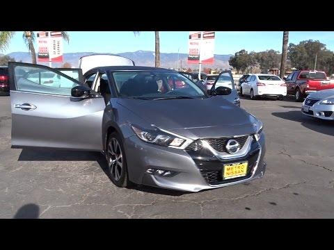2016 Nissan Maxima San Bernardino, Fontana, Riverside, Palm Springs, Inland Empire, CA P8932R
