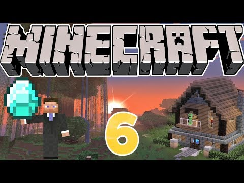 MAKING TELEPORT ROOMS ► Minecraft #6