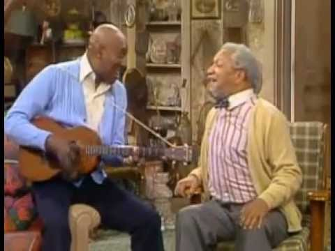 Sanford and son  Red Foxx Singing All of me