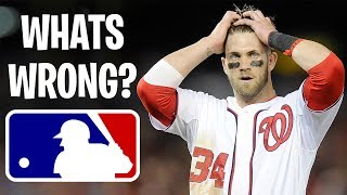 What's WRONG with The MLB - Major League Baseball Problems (RANT)