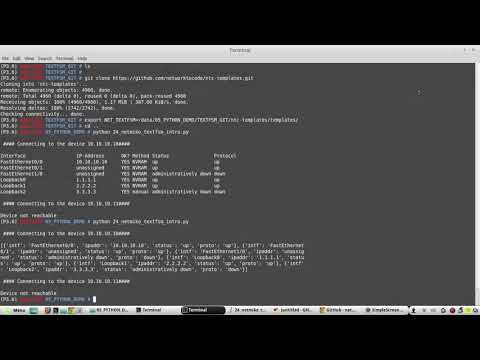 How To Parse Cisco Device Configuration In Python 3 Using TEXTFSM Example | Part 28 | Using NETMIKO