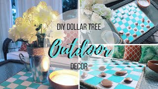 DIY DOLLAR TREE OUTDOOR DECOR   VARIETY FUN